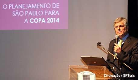 Caio Luiz de Carvalho da SP Turismo