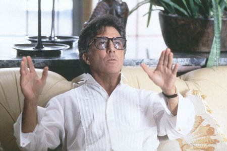 Dustin Hoffman, no filme Mera Coincidência
