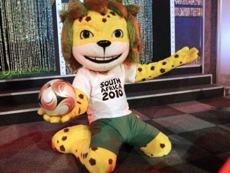 Mascote da Copa de 2010